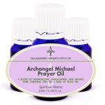 Archangel Michael Prayer Oil - blended to mimic the ancient blend, promoting spiritual awareness, peace, courage, control and tranquility