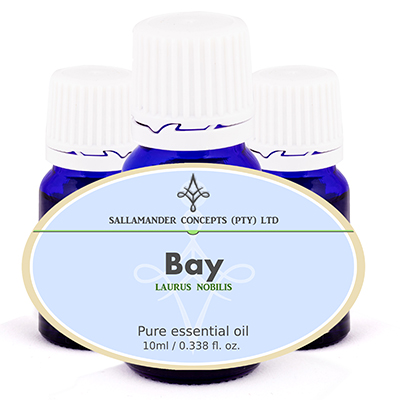Bay oil can be used in the treatment of rheumatism, neuralgia, muscular pain, circulation problems, colds, flu, dental infection and hair growth.