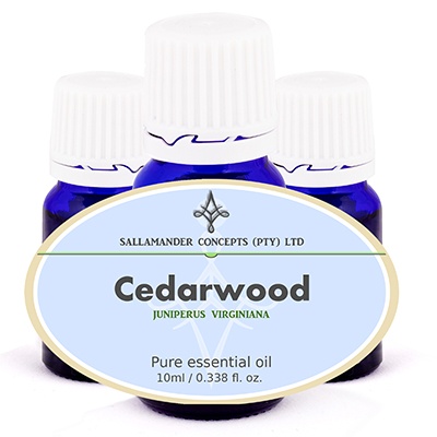Cedarwood essential oil benefits the skin by its sedating ability which relieves itching. Its astringent action is great for acne, oily skin and dandruff