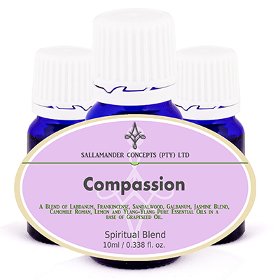 Compassion Spiritual Oil - blended to promote feelings of compassion, mercy, empathy and concern and to remove feelings of anger and resentment.