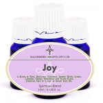 Joy Spiritual Oil - conveniently blended to promote feelings of friendship, love, harmony, joie de vivre, and revitalising bonhomie.