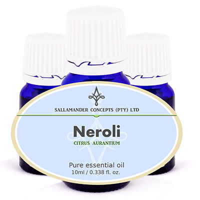 Neroli Essential Oil is very relaxing and can relieve chronic anxiety, depression, fear, shock and stress. It can be used for intestinal spasms and diarrhea